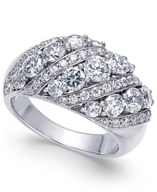 Diamond Dome Ring (2-1/2 ct. t.w.) in 14k White Gold