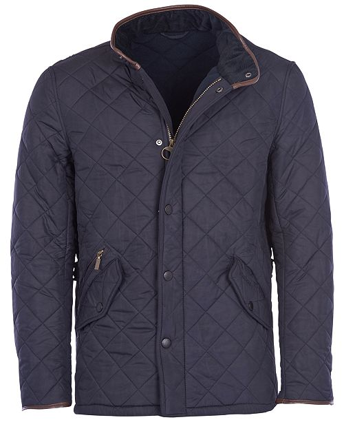 Barbour Men S Powell Quilted Jacket Coats Amp Jackets