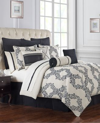 Reversible Vienna 4-Pc. Queen Comforter Set