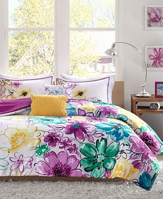 Intelligent Design Olivia 4 Pc Twintwin Xl Comforter Set Bed In
