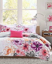 Olivia 5-Pc. Reversible Full/Queen Comforter Set