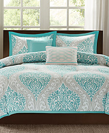 Intelligent Design Senna 5-Pc. Reversible Full/Queen Comforter Set