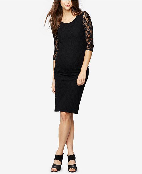 Isabella Oliver Maternity Lace Sheath Dress