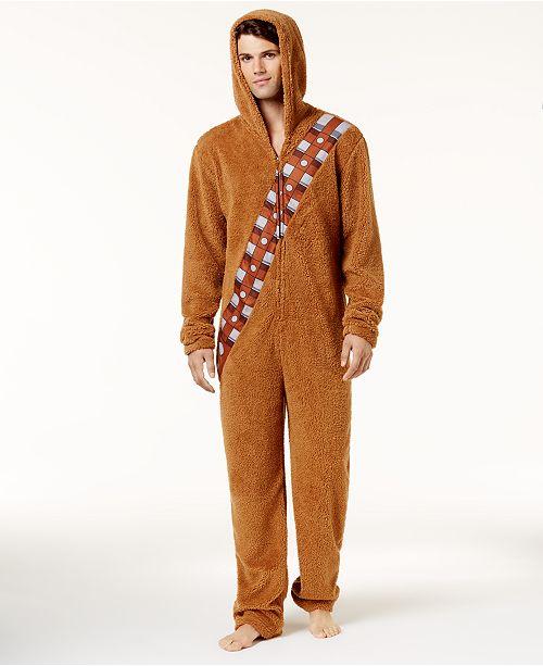 Bioworld Men's Chewbacca Onesie Costume