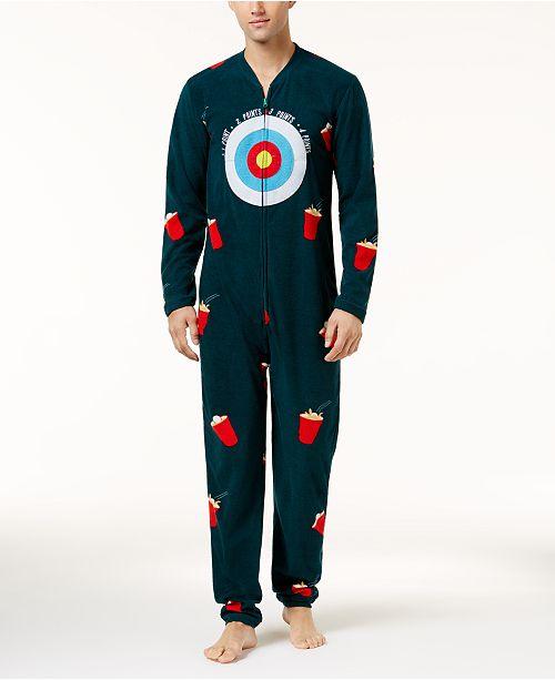Bioworld Men s Ball Toss Game Onesie Costume - Pajamas a6a738cf4ca0