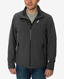 Nautica Men's Stretch Performance Windbreaker and Rain Jacket
