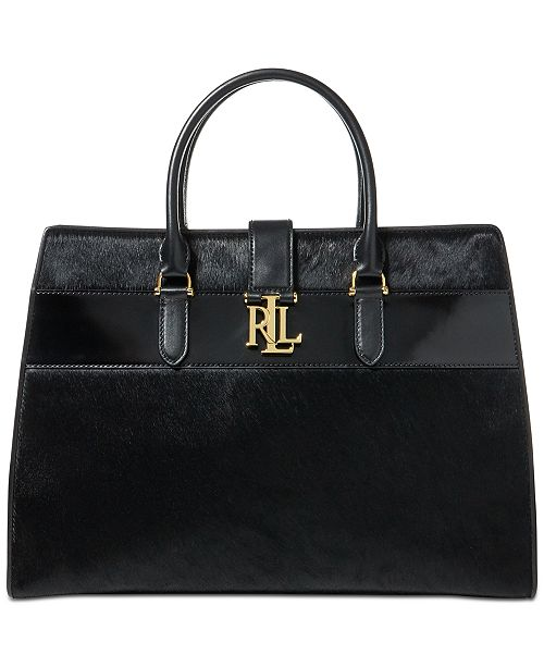 aa5ac9395440 Lauren Ralph Lauren Brigitte Large Tote - Handbags   Accessories ...