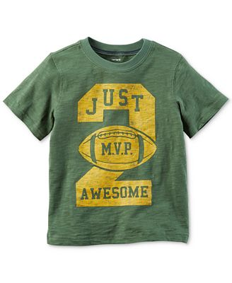 Carter's MVP Graphic-Print Cotton T-Shirt, Toddler Boys