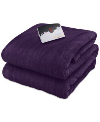 Microplush Heated Queen Blanket