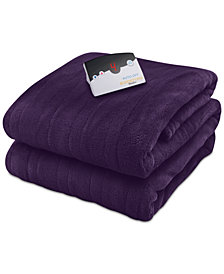 Biddeford Microplush Heated Queen Blanket