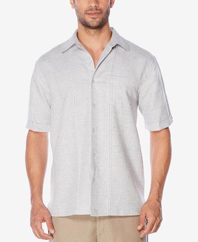 Cubavera Men's Textured Shirt