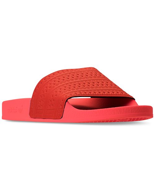 adidas Men's Adilette Slide Sandals from Finish Line MFp4UGB