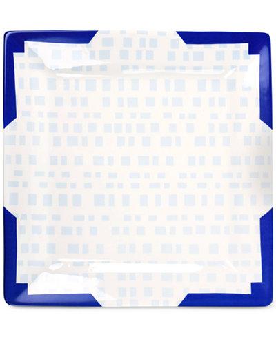 Coton Colors Smoke Tweed Square Platter