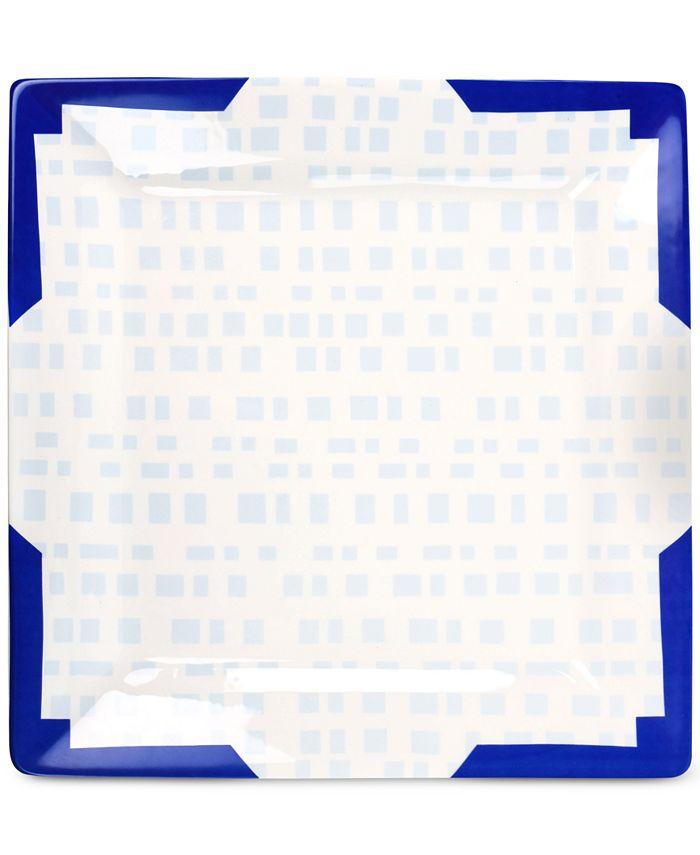 Coton Colors - Smoke Tweed Square Platter