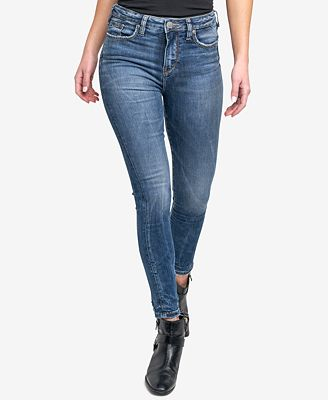 Silver Jeans Co. Robson High-Waist Jeggings