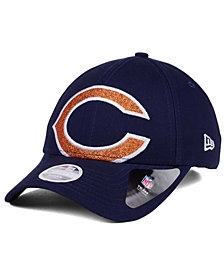 New Era Women's Chicago Bears Glitter Glam 9TWENTY Strapback Cap