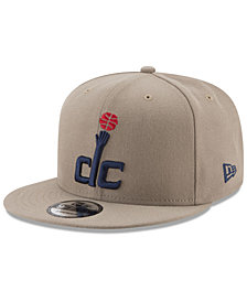 New Era Washington Wizards Tan Top 9FIFTY Snapback Cap