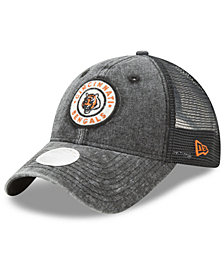 New Era Women's Cincinnati Bengals Perfect Patch 9TWENTY Snapback Cap
