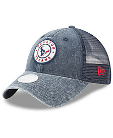 New Era Women's Houston Texans Perfect Patch 9TWENTY Snapback Cap
