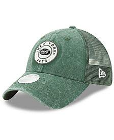 New Era Women's New York Jets Perfect Patch 9TWENTY Snapback Cap
