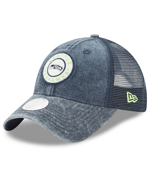 b3e8860d New Era Women's Seattle Seahawks Perfect Patch 9TWENTY Snapback Cap ...