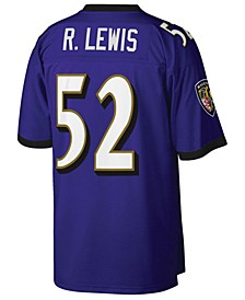 Men's Ray Lewis Baltimore Ravens Replica Throwback Jersey