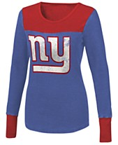 Touch By Alyssa Milano Women s New York Giants Blindside Thermal Long  Sleeve T-Shirt fbe2f22b4