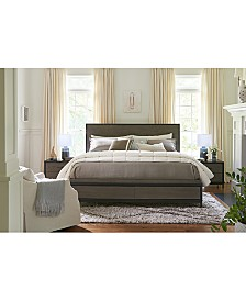 Avery Brown Storage Bedroom Furniture Collection