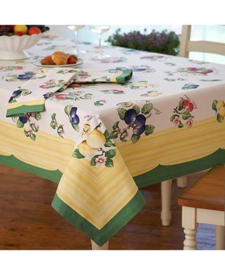 Villeroy U0026 Boch French Garden 68 X 126 Table Cloth   Table Linens   Dining  U0026 Entertaining   Macyu0027s