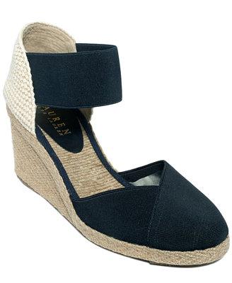 Lauren Ralph Lauren Charla Espadrilles Sandals Shoes
