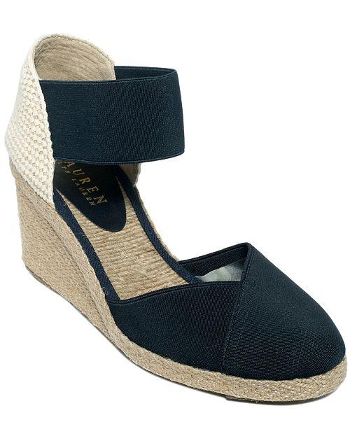 4a3119eddd6b Lauren Ralph Lauren Charla Espadrilles   Reviews - Sandals   Flip ...