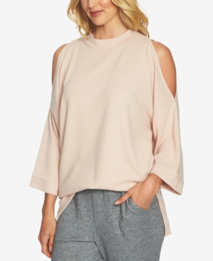 1.state  COLD-SHOULDER COZY TUNIC