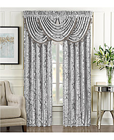 "J Queen New York Bel Air Silver 84"" x 100"" Window Drapery"
