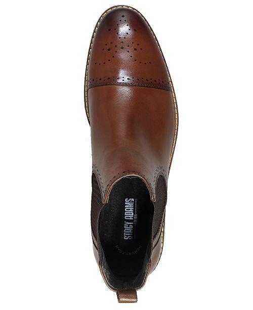 Stacy Adams Men S Alomar Cap Toe Chelsea Boots Amp Reviews