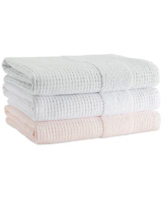 Honeycomb 100% Cotton Reversible Bath Towel