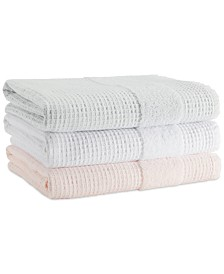 Cassadecor Honeycomb Bath Towel Collection