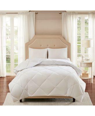 Smart Cool by Coolmax® Microfiber White Twin Down-Alternative Comforter