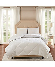 Smart Cool by Coolmax® Microfiber White Full/Queen Down-Alternative Comforter