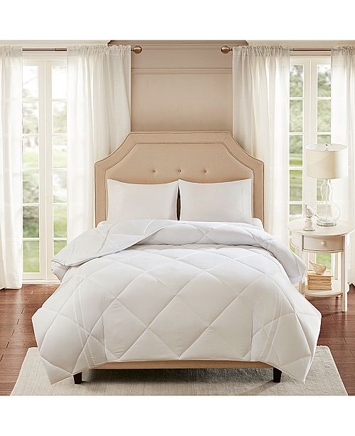 Sleep Philosophy Smart Cool by Coolmax® Microfiber White Twin Down-Alternative Comforter