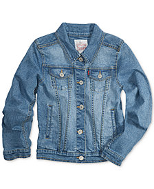 Levi's® Distressed Denim Jacket, Big Girls (7-16)