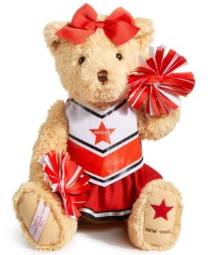 Macys Thanksgiving Day Parade Cheerleader Bear Created for Macys