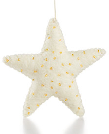 Global Goods Partners Felt Star Ornament