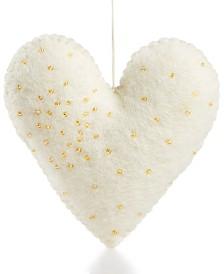 Global Goods Partners Felt Heart Ornament
