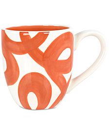 Coton Colors Persimmon Loop De Loo  Mug