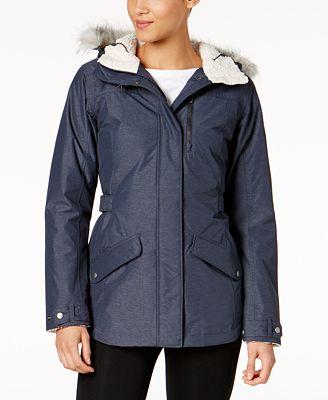 Columbia Penns Creek Faux-Fur-Trimmed Jacket