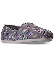 Skechers Women's Bobs Plush - Kitty Smarts Casual Slip-On Flats from Finish Line