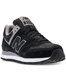 New Balance Women's 574 Winter Nights Casual Sneakers from Finish Line