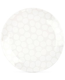 White Pebble Dinner Plate