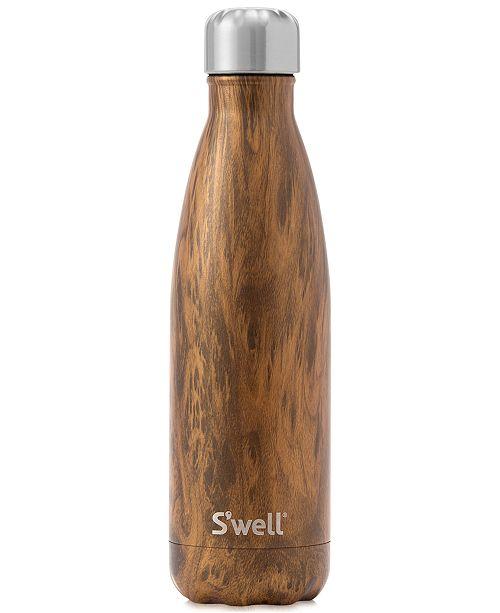 S'Well® 17-oz. Teak Wood Water Bottle