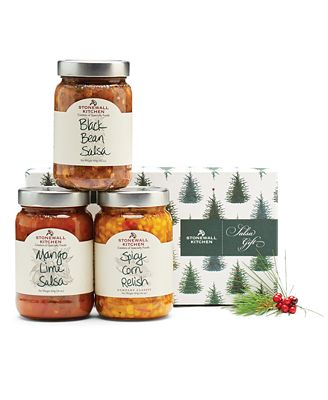 Stonewall Kitchen Salsa Gift Set - Gourmet Food & Gifts - Dining ...